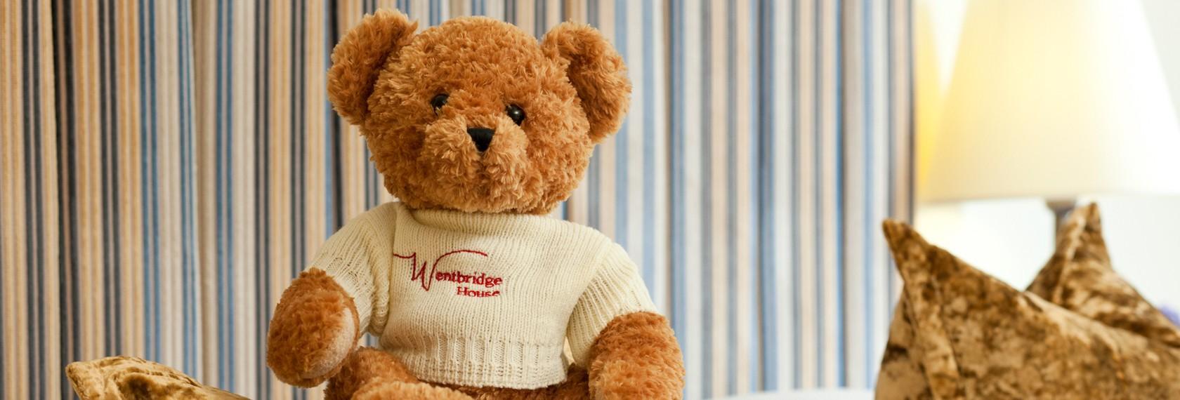 Logo Gấu Bông Valentine