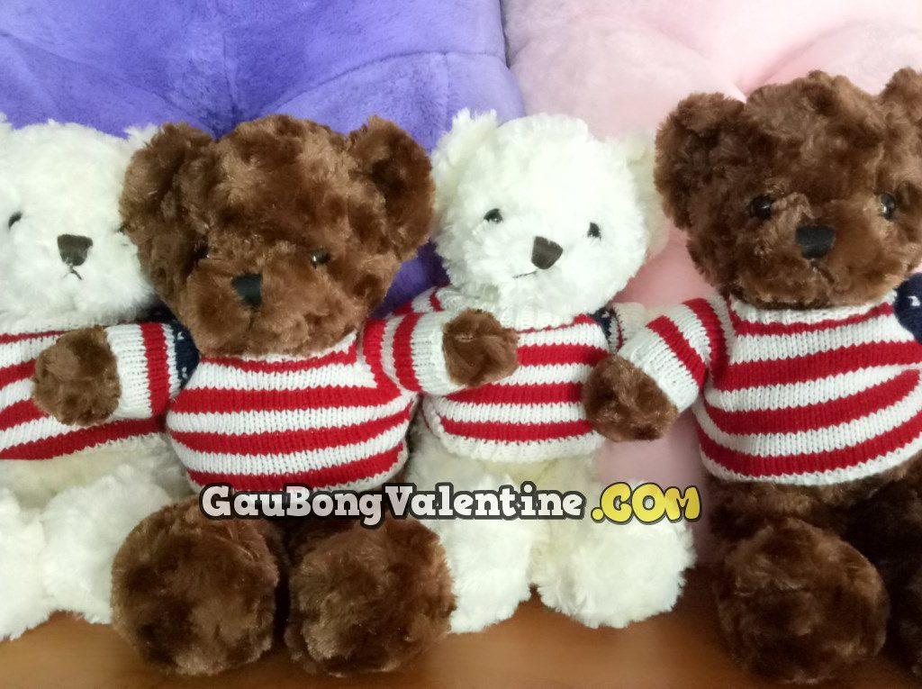Gấu Teddy Cờ Mỹ Mini
