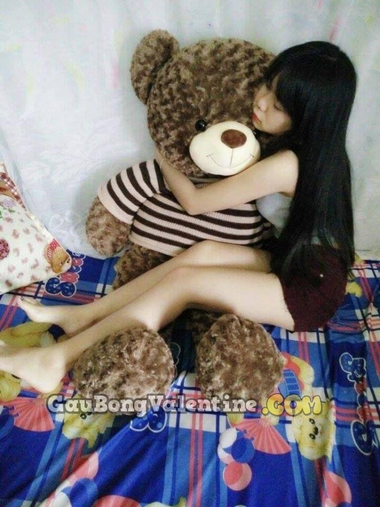 Gấu Bông Má Hồng 1m5