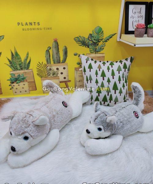 Chó Sói Alaska Nhồi Bông