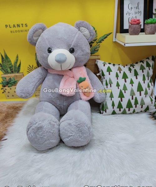 Gấu Bông Khăn Choàng Cà Rốt