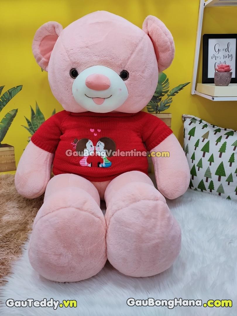 Gấu Bông Couple Hồng