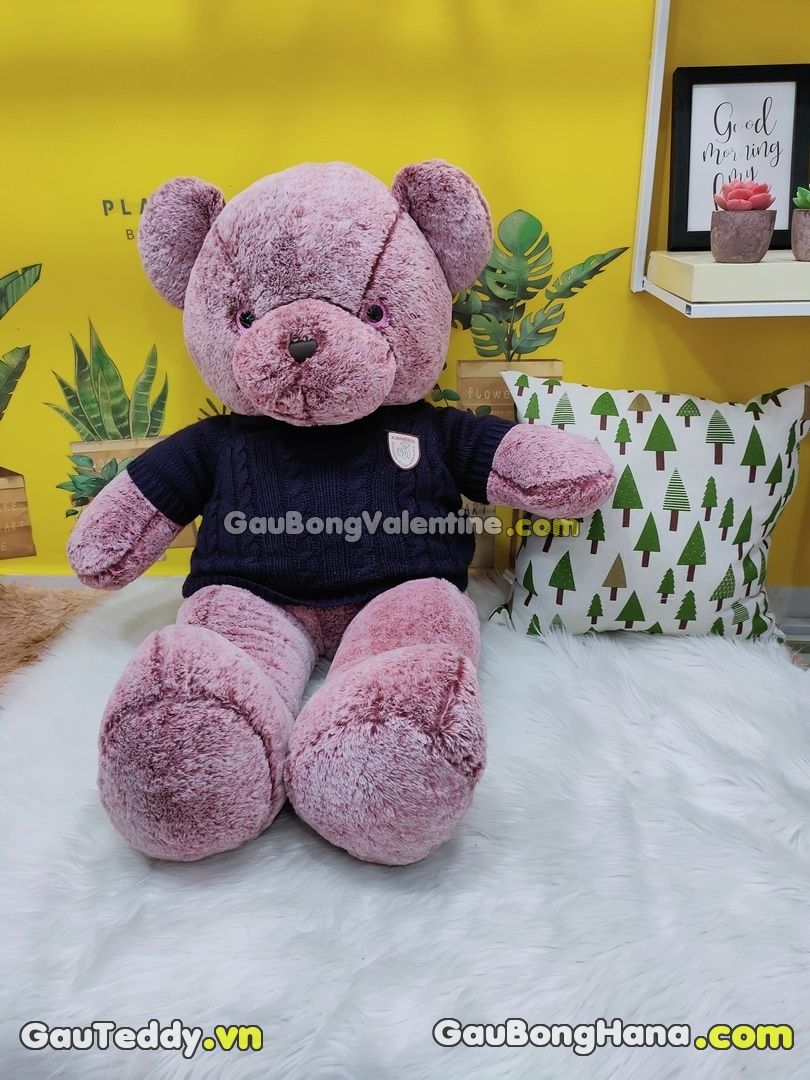 Gấu Bông Teddy Snowflake
