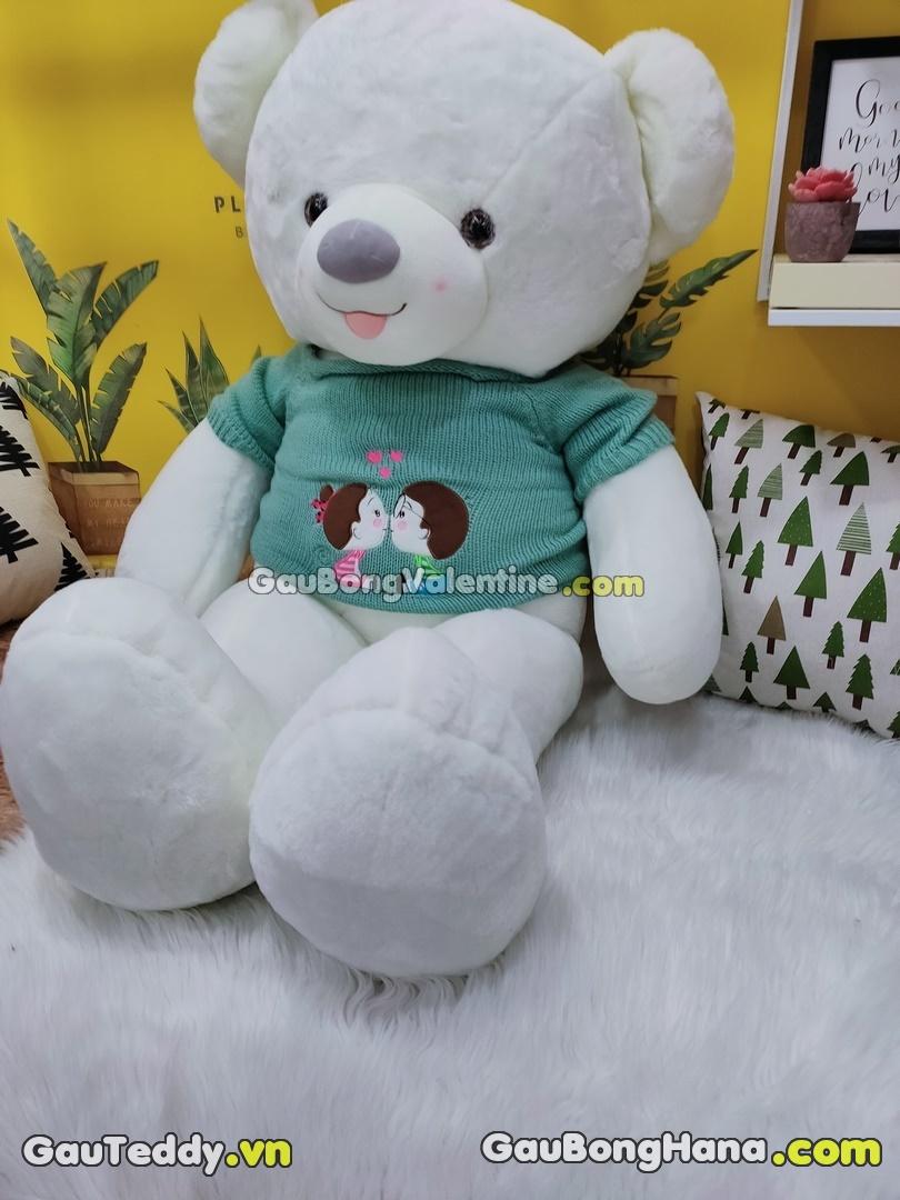 Gấu Bông Couple Trắng