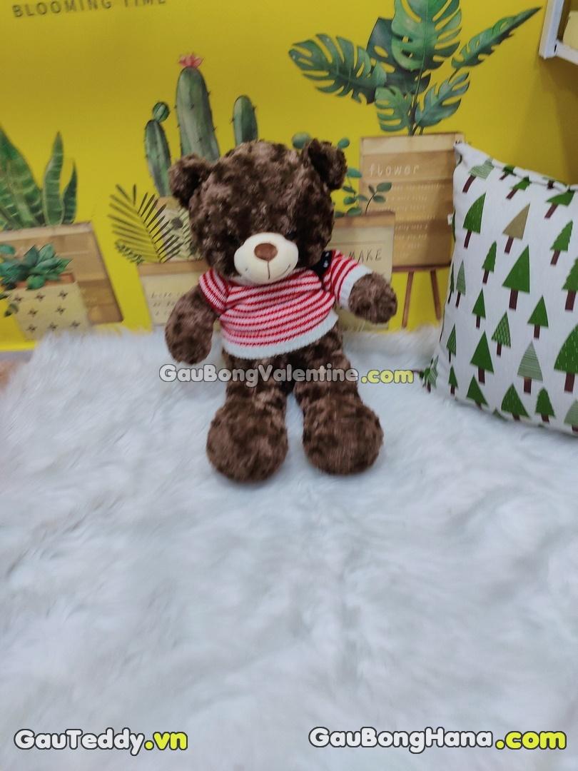 Gấu Bông Áo Len Cờ Mỹ