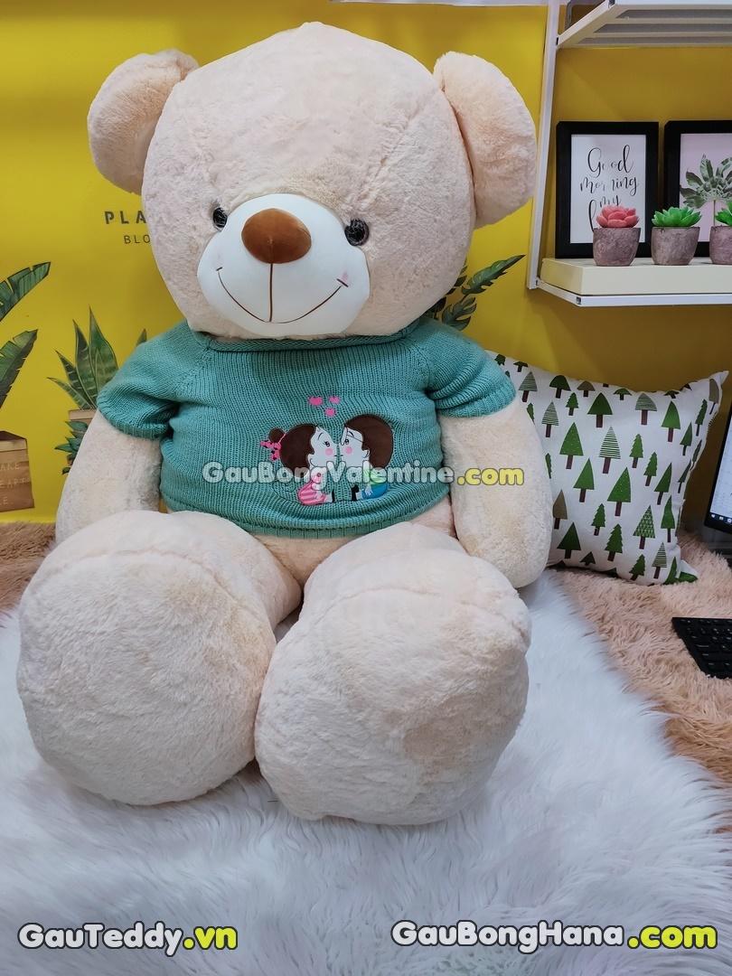 Gấu Bông Nâu Kiss